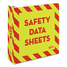 Avery 18952 Hd 11 In X 85 In 3 In Cap Safety Data Sheet Binder Ylwr New