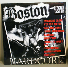 BOSTON HARDCORE 2018 RSD NEW VINYL FREE SHIPPING! Ltd Ed. of 500
