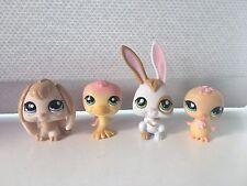 Pasqua Bundle LITTLEST PET SHOP LPS regalo Bunny Rabbit CHICK DUCK