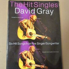 songbook DAVID GRAY the hit singles , lyrics and guitar chord boxes