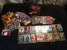 Marvel Spider-Man Heroes & Villains -121 Cards & Collectible Tin