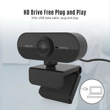 1080P Webcam Web Cam Video Conference Camera W/ Mic For Computer PC Laptop A1F2