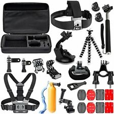 Accessories Bundle Kit for GoPro Hero 5 4 3+ 3 2 1 Black Silver Action Camera