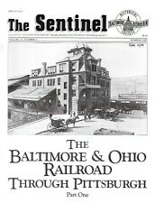 The Sentinel Baltimore & Ohio Pittsburgh Steel Etna Tunnel Wildwood Coal Ship