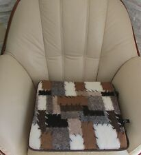 Chair Pillow 6 ST-100%Merino Wool Car Seat Cushion Made in Germany
