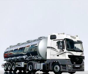 "Mercedes Actros MP3 4x2 Tanker trailer ""Uniliquid"" WSI truck models 10139"