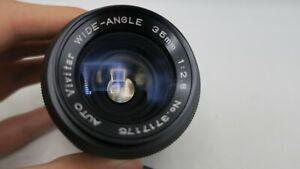 Vivitar Auto Wide Angle 35mm F2.8 Canon FD Mount Lens SLR/Mirrorless Cameras