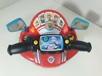 Paw Patrol VTECH Pups to the Rescue Talking Driver Pre School Toy Lights Sounds