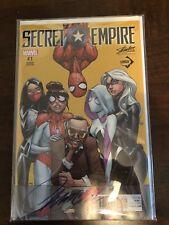 Secret Empire 1 J Scott Campbell Variant  (signed!)