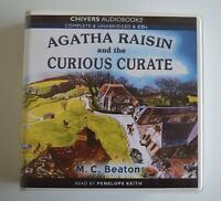 Agatha Raisin and the Curious Curate - M.C. Beaton - Audiobook - 6CDs