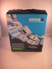 New Sirius Stratus 7 Satellite Radio Receiver & Vehicle kit.