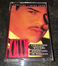 Adventures in Paradise by Christopher Williams (Cassette, 1989, Geffen)