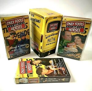 Only Fools And Horses Christmas Trilogy VHS Video Tape Box Set