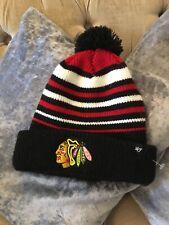 Chicago Blackhawks '47 Embroidary Logo Beanie Hat