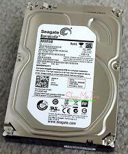 Seagate Barracuda ST3000DM001 HDD 3000GB 3TB w/ 64MB Cache 7200rpm 6Gb/s CC27