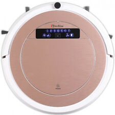 iTouchless UV-C Sterilizer Robot Vacuum Cleaner with HEPA Filter (Rose Gold) - V