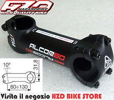 Attacco manubrio ITM Alcor 80 black (nero) 100mm per bici MTB/Corsa