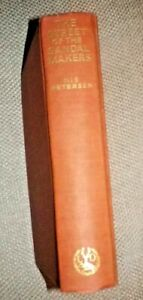 The Street of the Sandal Makers - Nis Petersen - First Edition 1933 Ancient Rome