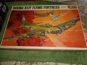 MINICRAFT HASEGAWA 112, 1/72 BOEING B-17F FLYING FORTRESS PLASTIC MODEL KIT