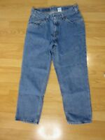 Levi Strauss & Co Mens Vintage Jeans 550 Relaxed Fit 32x27 Husky Orange Tab