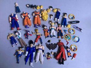 Huge lot of Dragonball Z action figure parts vintage