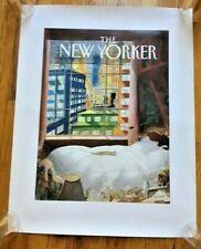 "New Yorker Sempe print 22"" x 28"""