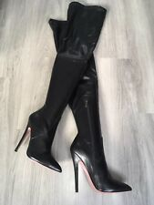 Gianrico Mori Thigh High Crotch High Boots E 43 UK 9
