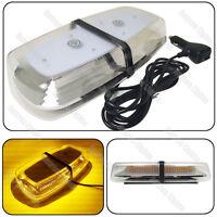 72 SMD LED Amber Mini Work Roof  Light Bar Beacon Roof Emergency Warning Strobe