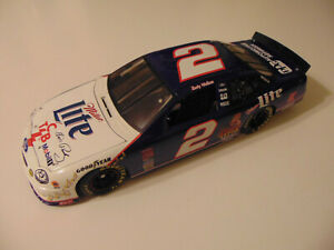 REVELL 1998 RUSTY WALLACE #2 FORD TAURUS ELVIS MILLER LITE TCB NASCAR 1:18
