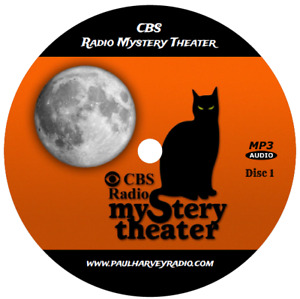 CBS RADIO MYSTERY THEATER (1,399 SHOWS) OLD TIME RADIO MP3 28 CD'S