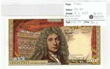 Billets de 500 francs français 500 Francs sur Molière