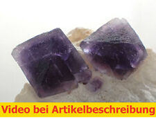 7404 Fluorit Oktaeder Quarz ca 3*9*7 cm Wuyi China  MOVIE