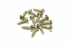 """Small Truss rod cover screws for guitars #2 x 1/4"""" Qty 12 Nickel"""
