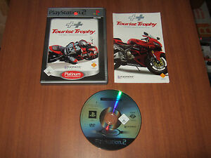 Tourist Trophy Real Riding Sim Sony Playstation 2 / PS2