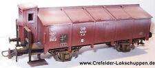 Roco 46276 Vagone con tetto ribaltabile K 25 DB Ep. 3 invecchiato.
