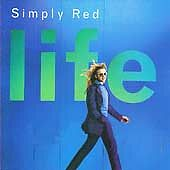 SIMPLY RED vg cond CD 10 tracks LIFE incl We're In This Together