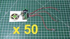 50pcs - DIY KIT 200sec LIGHT SENSOR + 2 BUTTONS MP3 device voice music sound rec