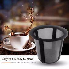 Reusable Stainless Steel Mesh Metal Cup Tea Leaf Filter Coffee Filter Cup K-cup