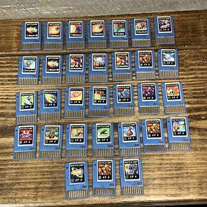Mega Man Battle Chip Lot Of 31 PET Rockman Capcom