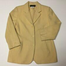 "NWT Harve Benard /""Faux Suede/"" Fuchsia Blazer Lined Jacket PM"