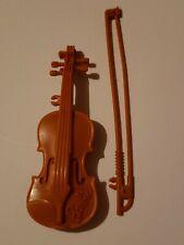 Barbie Miniature Plastic Realistic Looking Violin Bow Accessory