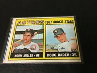 1965 Topps Baseball HOUSTON ASTROS ROOKIE STARS #412 Norm Miller & Doug Rader
