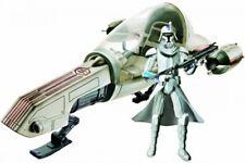 Freeco Speeder with Clone Trooper Action Figure Set