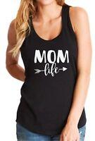 Tank Top Mom Life #2 T Shirt Christmas Gift Mama Bear T-Shirt Momma Mommy Tee