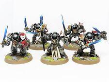 GREY KNIGHT TERMINATORS  -  Painted Warhammer 40K Gray Knights Army