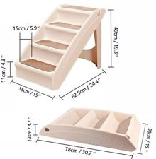 Foldable Lightweight Stairs for Pets-Dogs,Cats,Puppies by Eono Brand New RRP £50