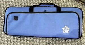 Rosetti Deluxe lightweight Bb trumpet case, blue, new