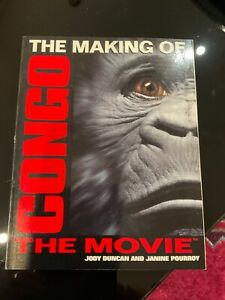 THE MAKING OF CONGO: THE MOVIE book movie tie-in