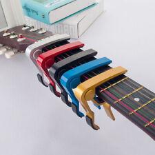 Advanced guitar capo quick change tune clamp acoustic electric classic guitarP T