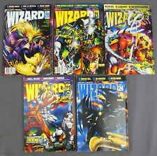 Wizard Comics Magazine #20 April #21 May #22 June #23 July #24 August 1993 VG